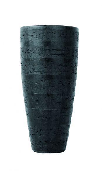 Madeira-Vase Ø34/70 schwarz