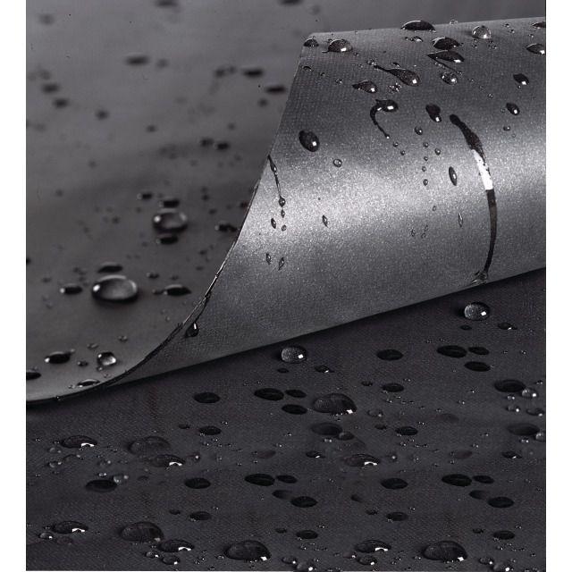PVC-Teichfolie schwarz 0.5 mm 5 x 4 m   Construction du bassin ...