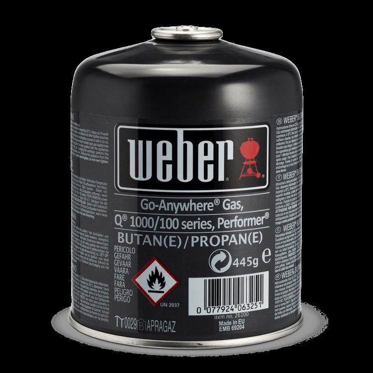Weber Gas-Kartusche (Version West-Europa)