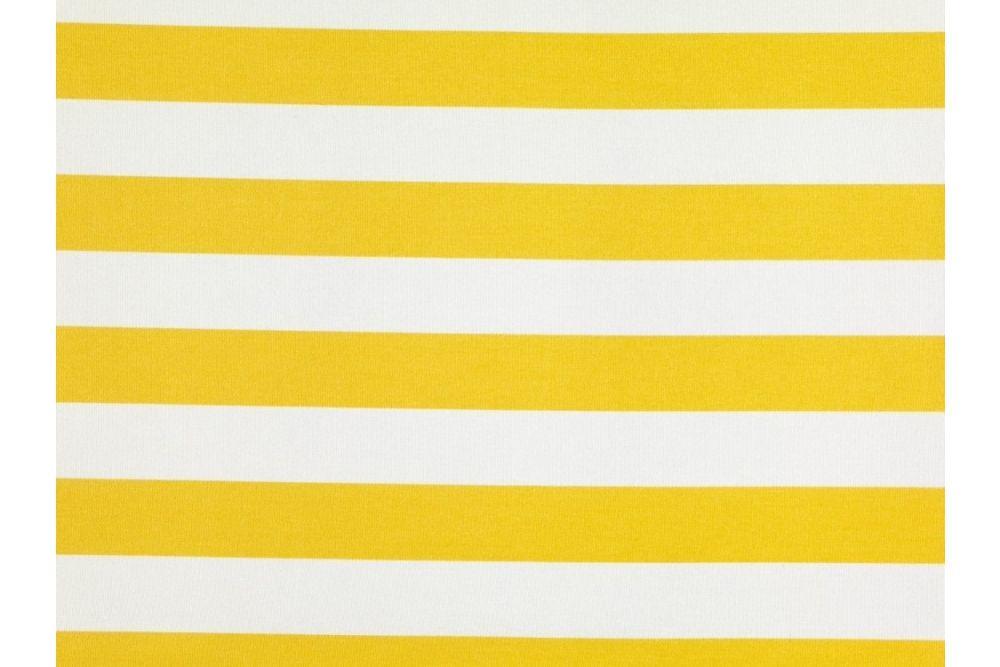 Stoff Breite 130 gelb-weiss