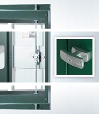 Drehgriff-Zylinderschloss Gerätehaus Europa