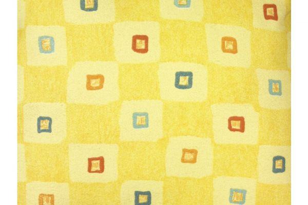 Stoff Breite 140 Manhattan gelb Karo Manhatten gelb Karo
