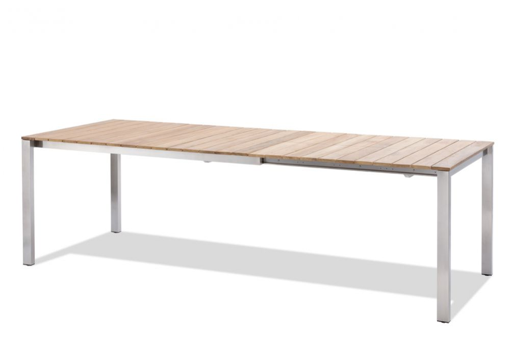 GRÖNLAND Gartentisch Teak Grösse: 150/210x90 cm | Gartentische ...
