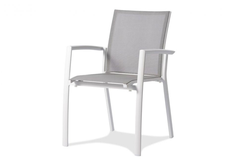 OSLO Gartenstuhl mit Armlehnen | Chaises de jardin | Hunn meubles de ...