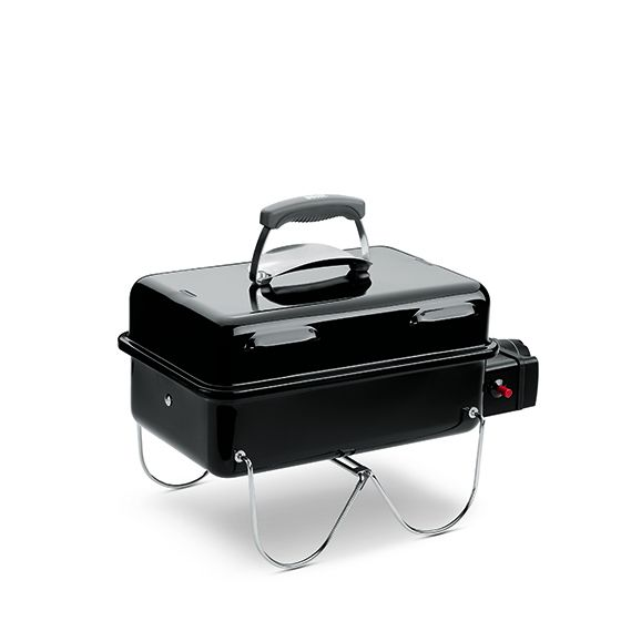 Weber Go-Anywhere Gas Grill, Black