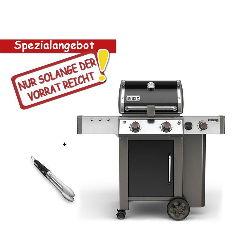 Pince Weber weber genesis ii lx e-240 gbs, black + pince | barbecues au gaz