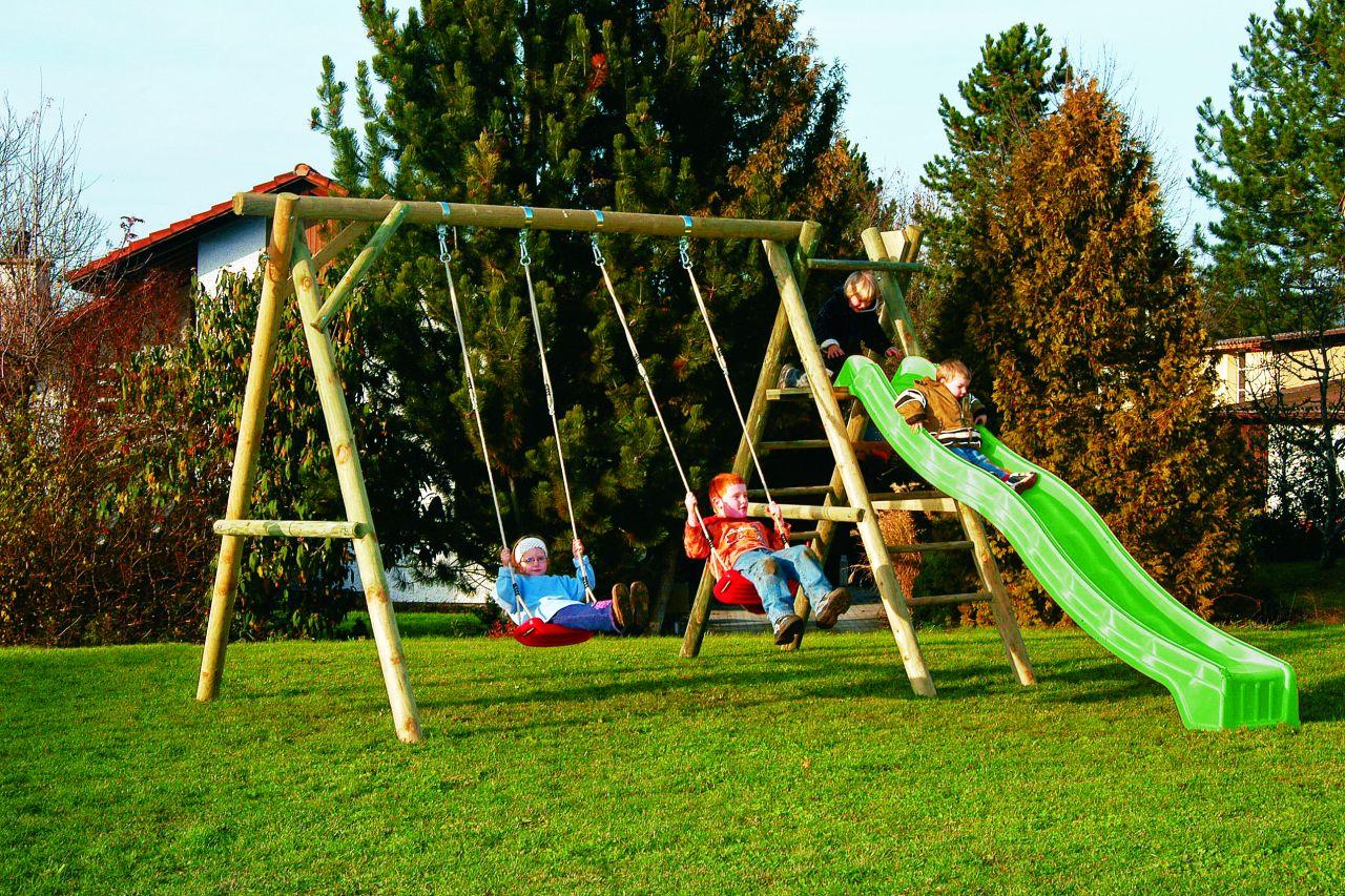 Schaukel Rutschbahn Kinderspielhäuser Gartenhäuser Haus