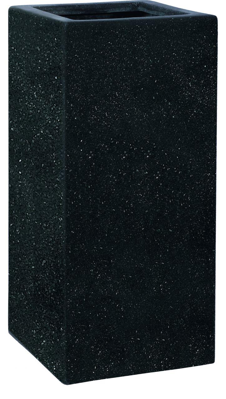 Gefäss Weert 87 Smartline Black 37x37x87cm