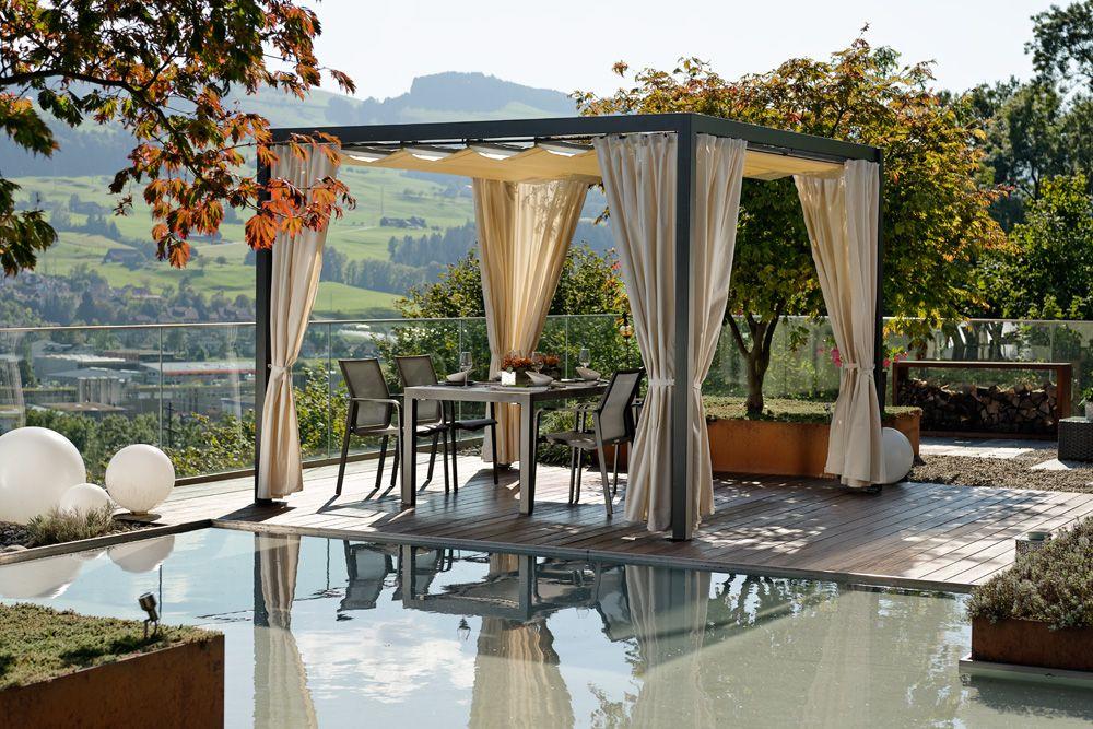 PERGOLA NEU Pavillondach PVC Grösse: 300x300 quadratisch | Pavillon ...