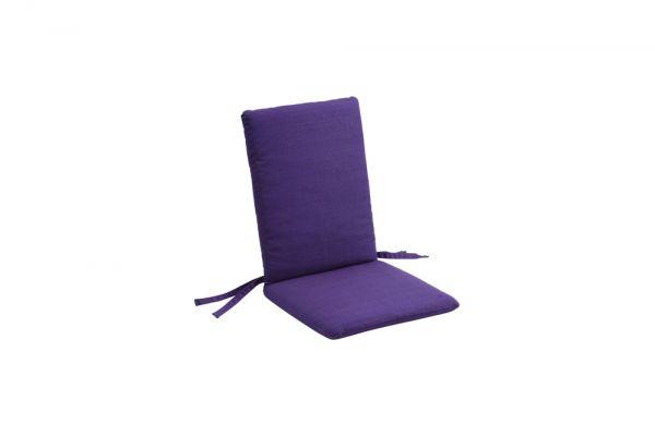 Gartenstuhlkissen Hochlehner Dupione violett