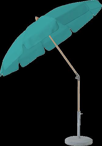 Glatz Sonnenschirm ALEXO, ohne Volant, Ø 200cm