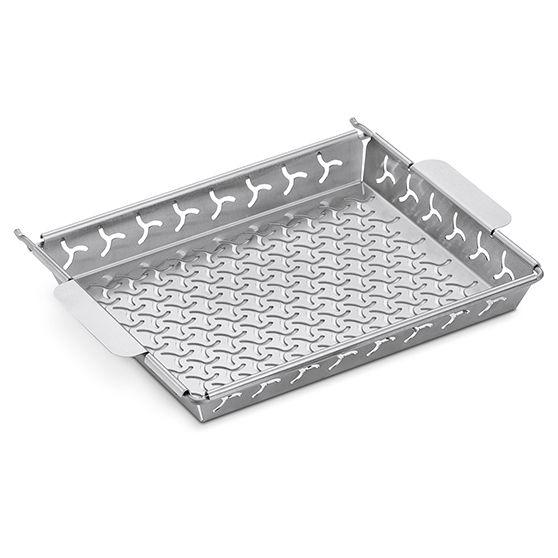 Weber Elevations Tiered Cooking System Grillkorb mit Halter
