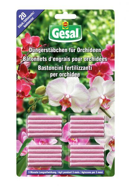Gesal Düngerstäbchen für Orchideen
