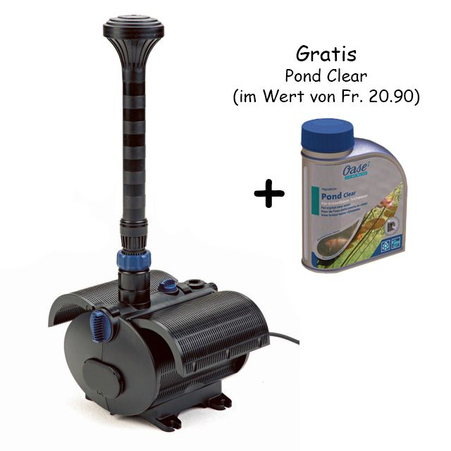 Aquarius Fountain Set 12000 avant: Pompe Nautilus 450, incl ...