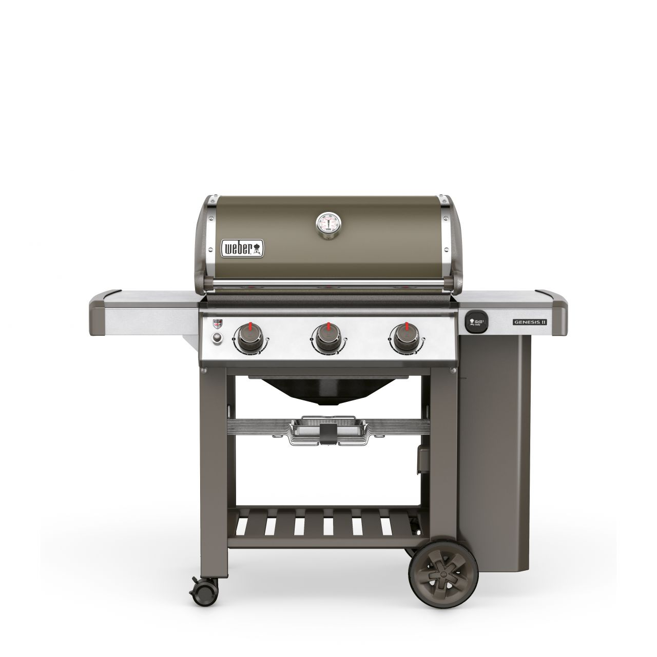 Weber Genesis II E-310 GBS, Smoke Grey