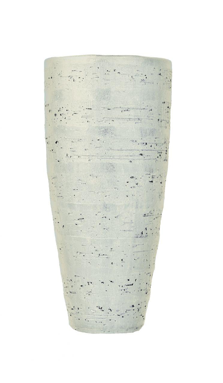 Madeira-Vase Ø36/90 weiss