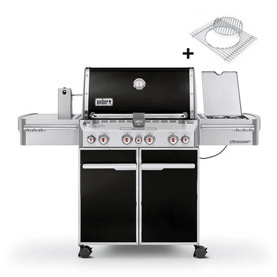 Weber Summit E-470 GBS, Black