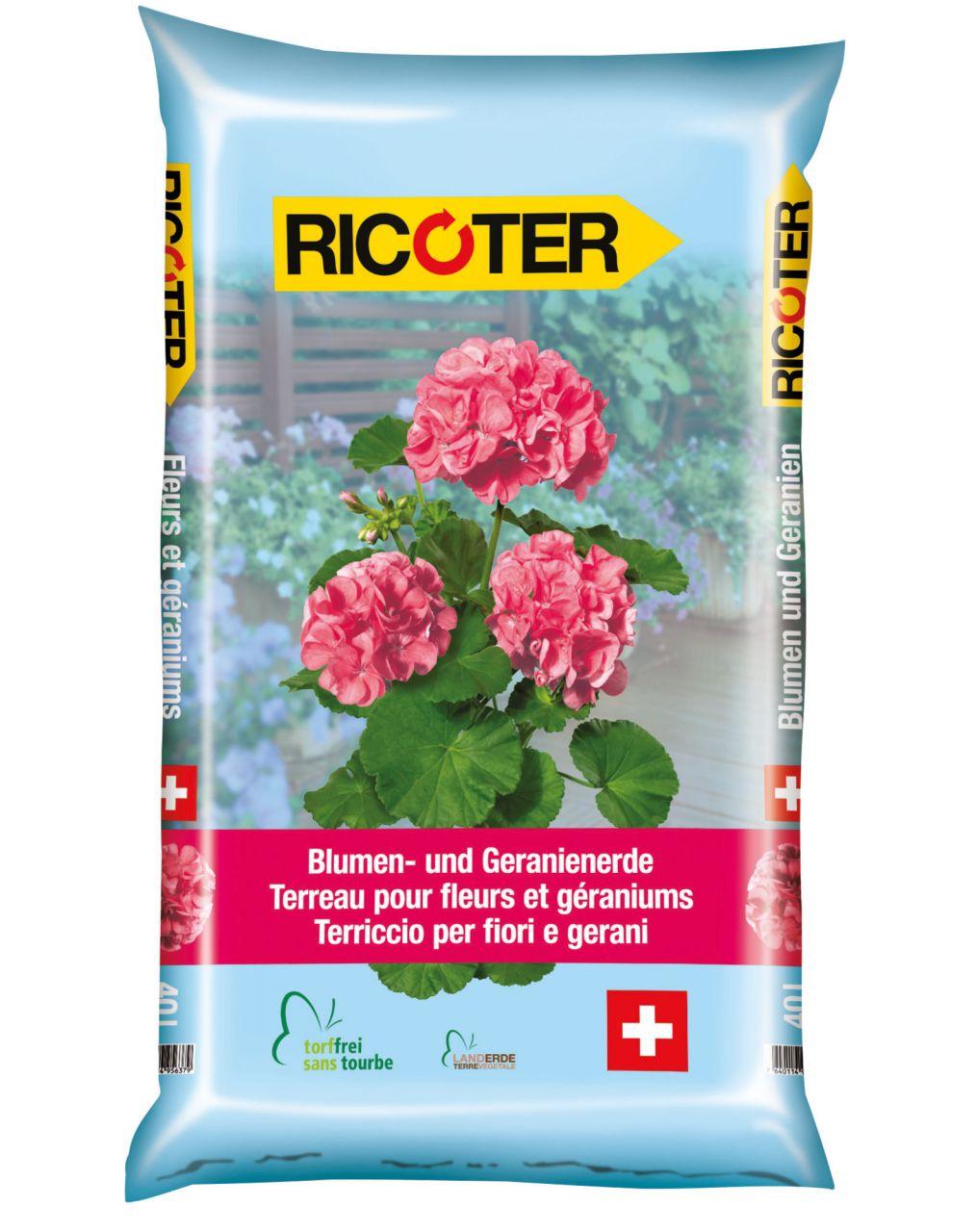 Blumen- und Geranienerde 40 l
