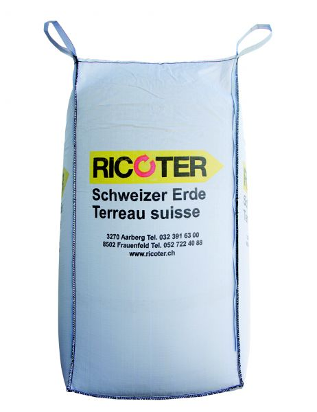 Ricoter | Universal Schweizer Erde | Big Bag