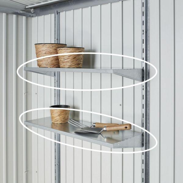 Regalböden | Gartenhäuser | Biohort Für das Gartenhaus AvantGarde 2x Standard