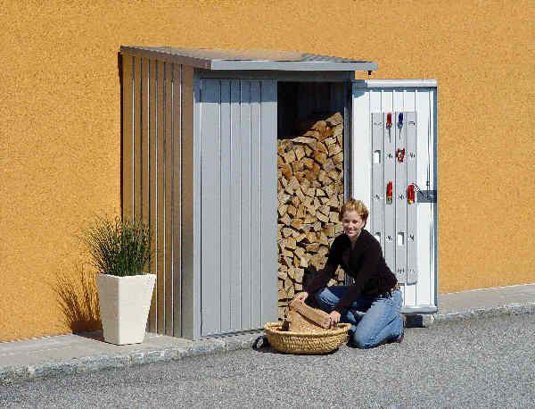 Türpaket | Biohort | WoodStock WoodStock 150 dunkelgrau-metallic