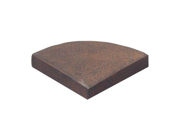 Jaco | Füsse eckige Gefässe | 4 Stk. Rusty Iron
